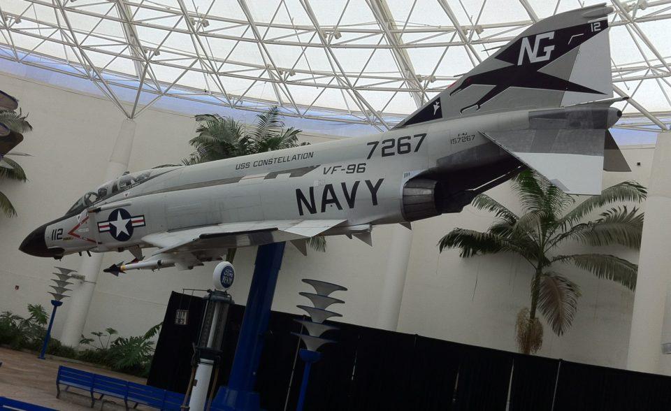 HA1974 F-4J Phantom II Showtime 112 VF -96 USS Constellation 1972 San Diego Air Museum