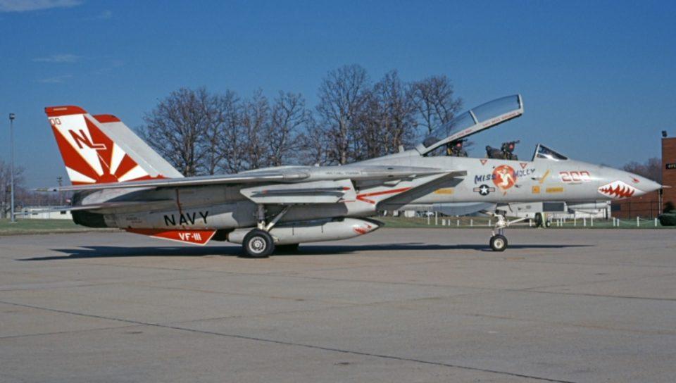 F-14A Tomcat VF-111 Sundowners Miss Molly