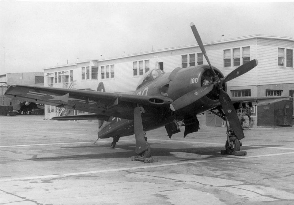 Grumman F8F-1, 95343, VF-11A, NAS NI, 1947