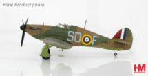 "HA8607 Hobbymaster Hawker Hurricane I SD-F, Sgt. Ldr James ""Ginger"" Lacey, No. 501 Sqn., Gravesend, Sept 1940"
