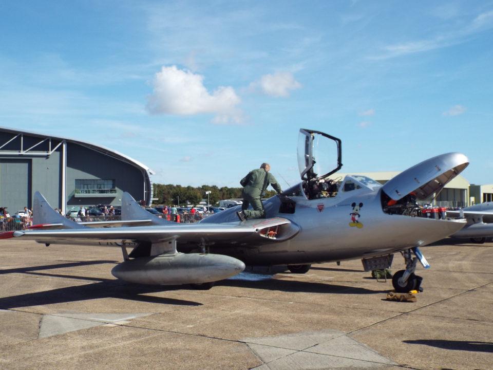 de Havilland Vampire T55 Nowegian Air Force Historical Squadron