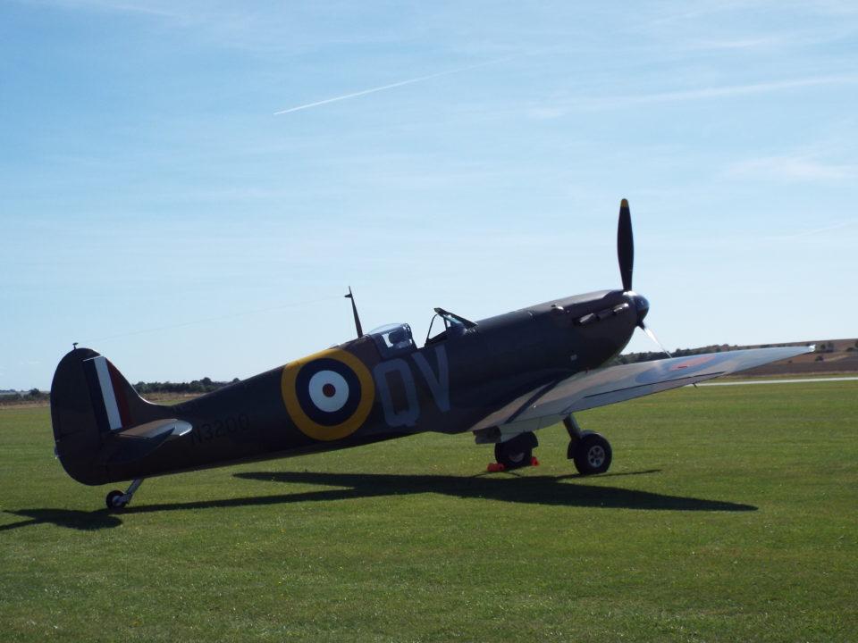 Supermarine Spitfire Mk Ia N3200 Imperial War Museums.