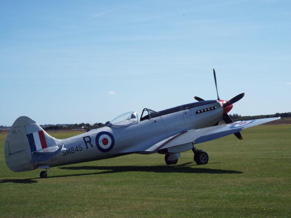 Supermarine Spitfire Mk XVIII SM845 Spitfire Ltd.