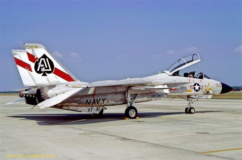 VF-41 Black Aces Tomcat F-14A 1978