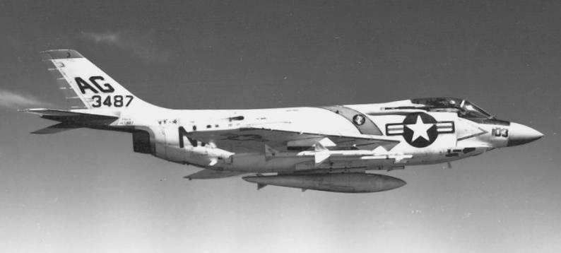 F3H-2 Demon (VF-41 / CVG-7) embarked on USS Independence (CVA 62) 1961