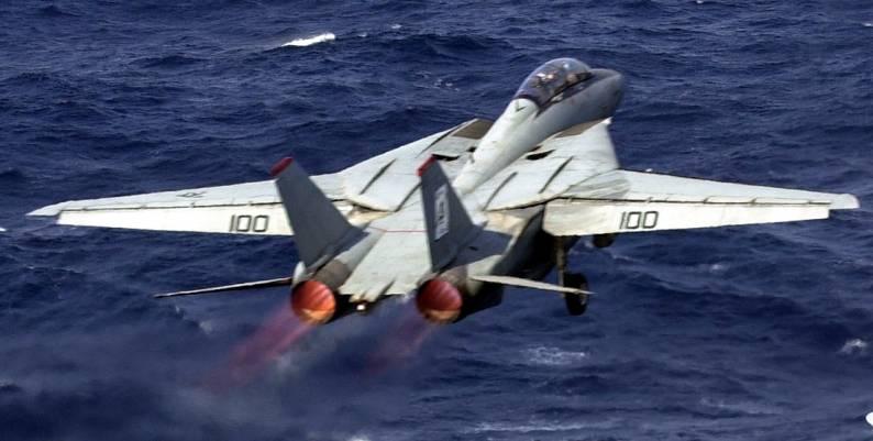 F-14A Tomcat (VF-41 / CVW-8) embarked on USS Enterprise (CVN 65) - 2001