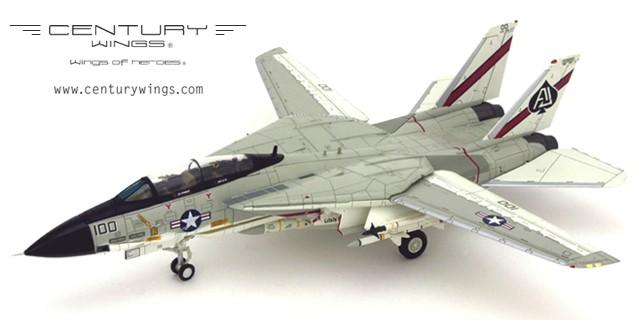 "CW001620 Century Wings Grumman F-14A Tomcat VF-41 Black Aces, AJ100, USS Nimitz, 1978 ""Landing Configuration"""