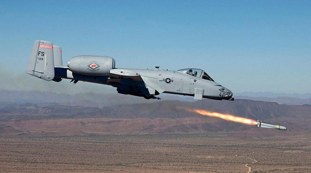 wh-6-warthog-firing-maverick-missile - Flying Tigers