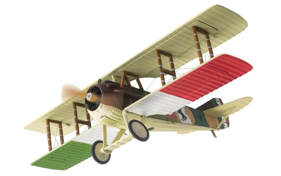 SPAD XIII, S2445, Major Francesco Baracca, 91st Squadriglia, Italian Air Force, April 1918