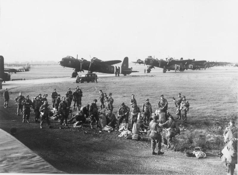 Mk.IV Stirlings of 620 Squadron, RAF during Operation Market Garden in September 1944