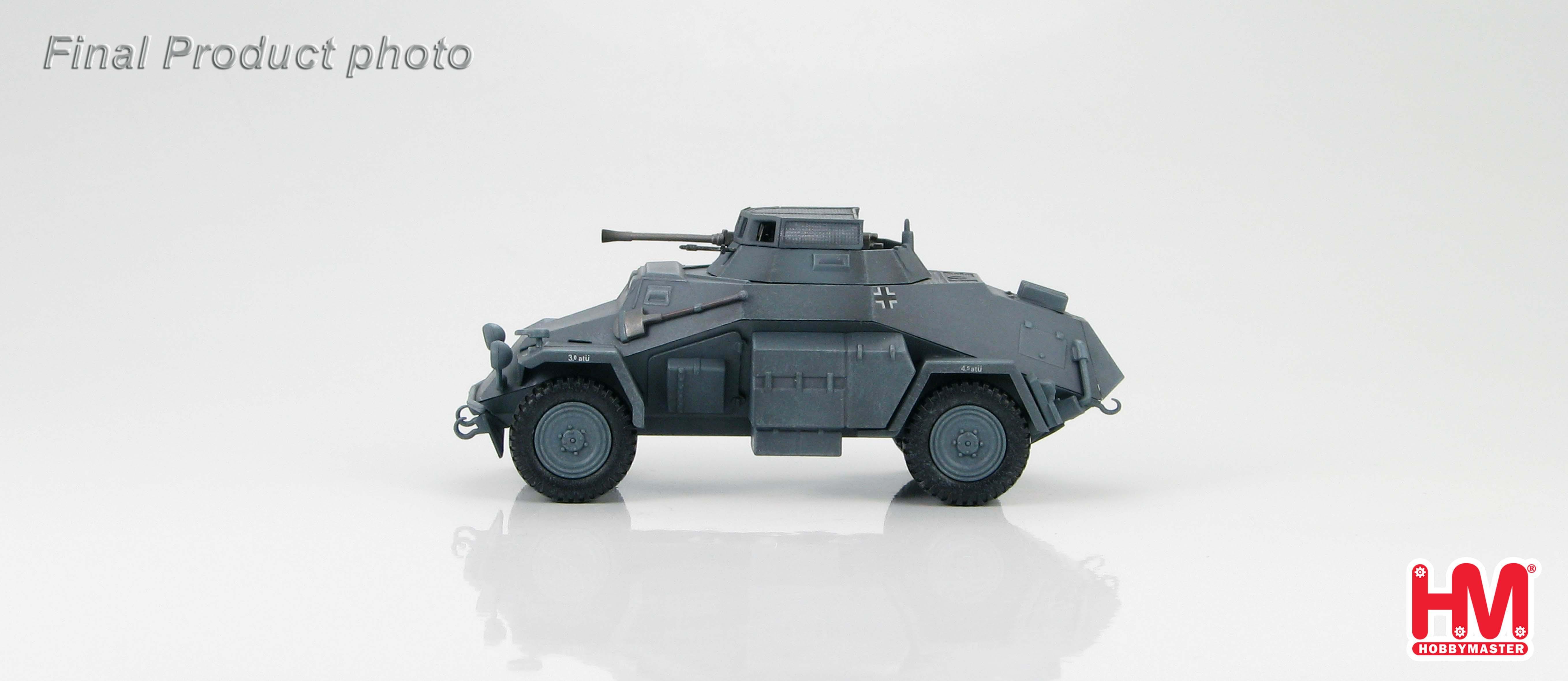 hg1401 hobbymaster sdkfz 222 leichter panzerspahwagen. Black Bedroom Furniture Sets. Home Design Ideas