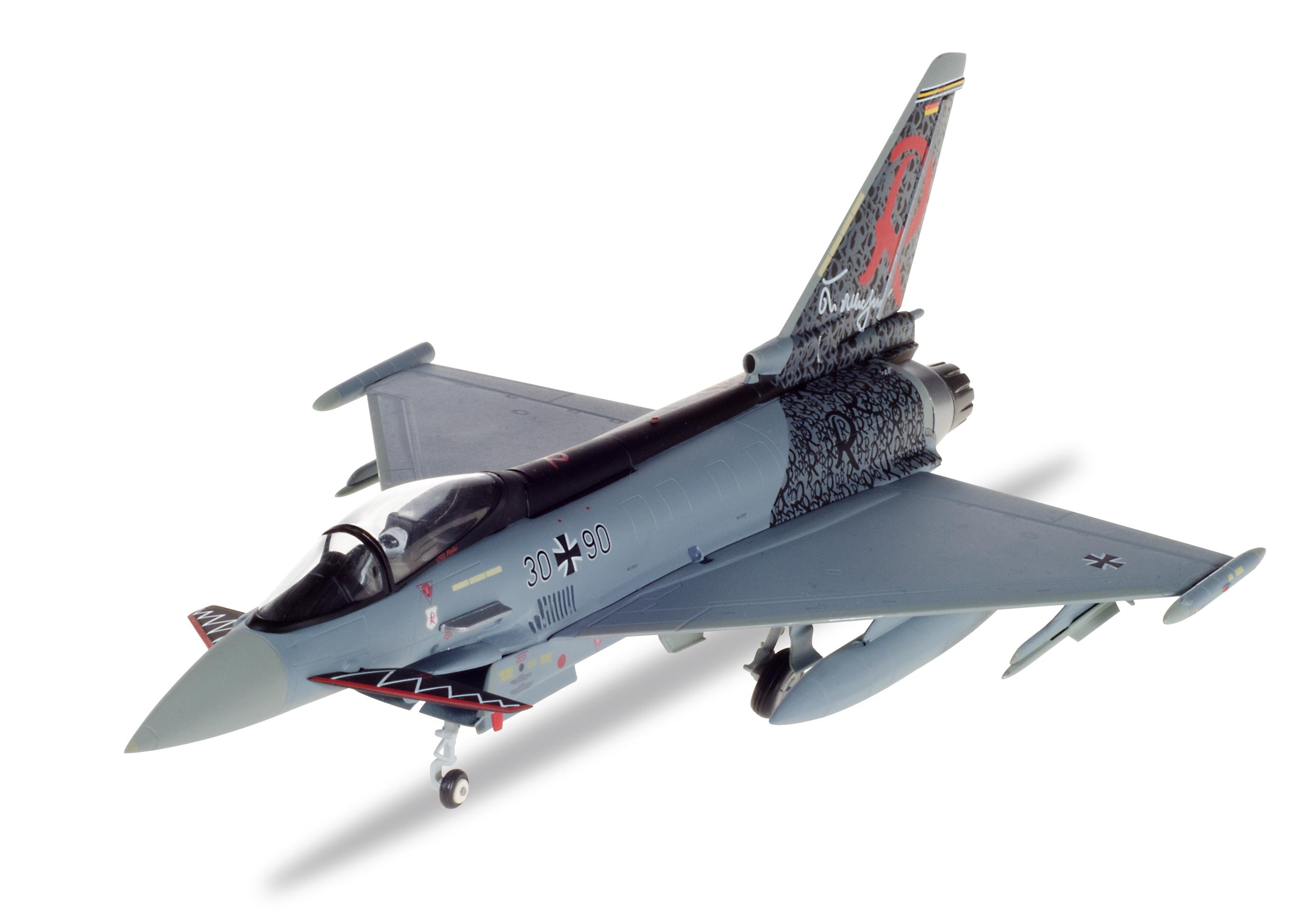 Taktlwg 71 Richthofen Herpa 580182-1//72 Eurofighter Typhoon Luftwaffe