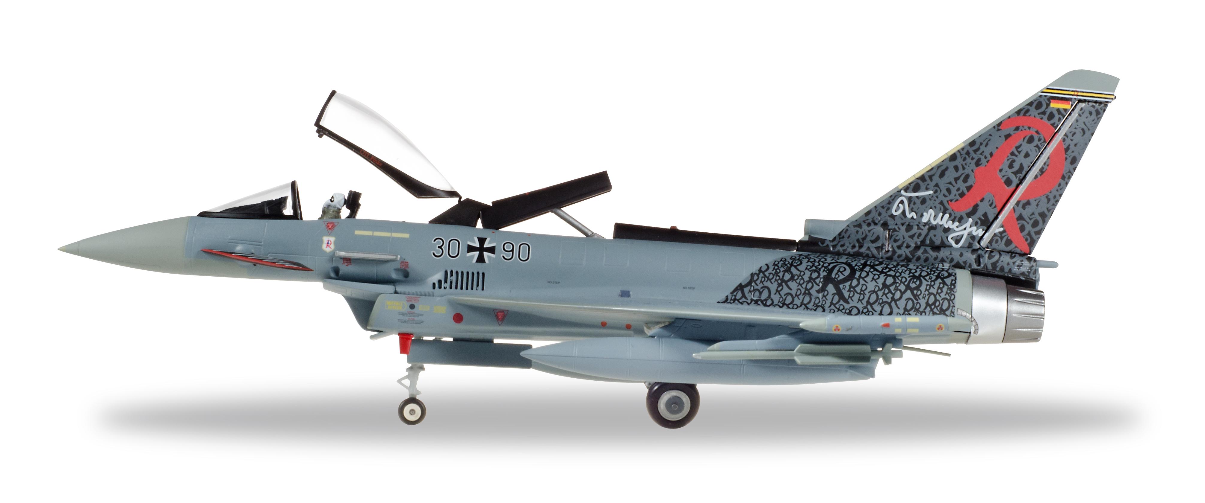 Herpa 580182-1//72 Eurofighter Typhoon-taktlwg 71 Richthofen-Luftwaffe