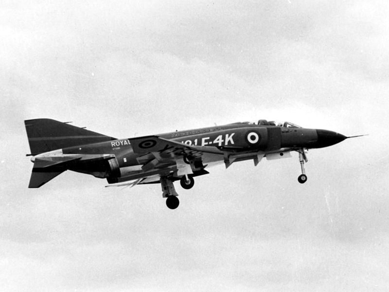 Royal Air Force McDonnell Douglas F-4 Phantom II , New model