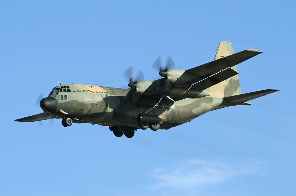 H1 Royal Australian Air Force C 130h 2007 Flying Tigers