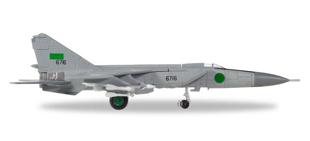 558907 Herpa Libyan Air Force Mikoyan Gurevich MiG-25PD