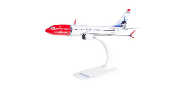 611817 Herpa Norwegian Air Shuttle Boeing 737 MAX 8