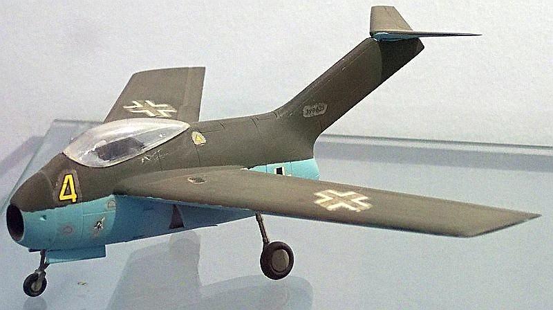 Focke-Wulf Ta 183 Huckebein, Innovation Aircraft , New Model