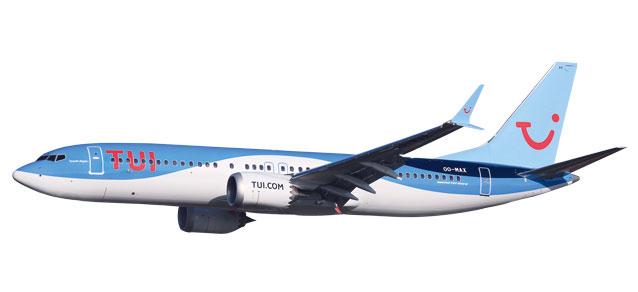 611961 Herpa TUI Fly Belgium Boeing 737 MAX 8