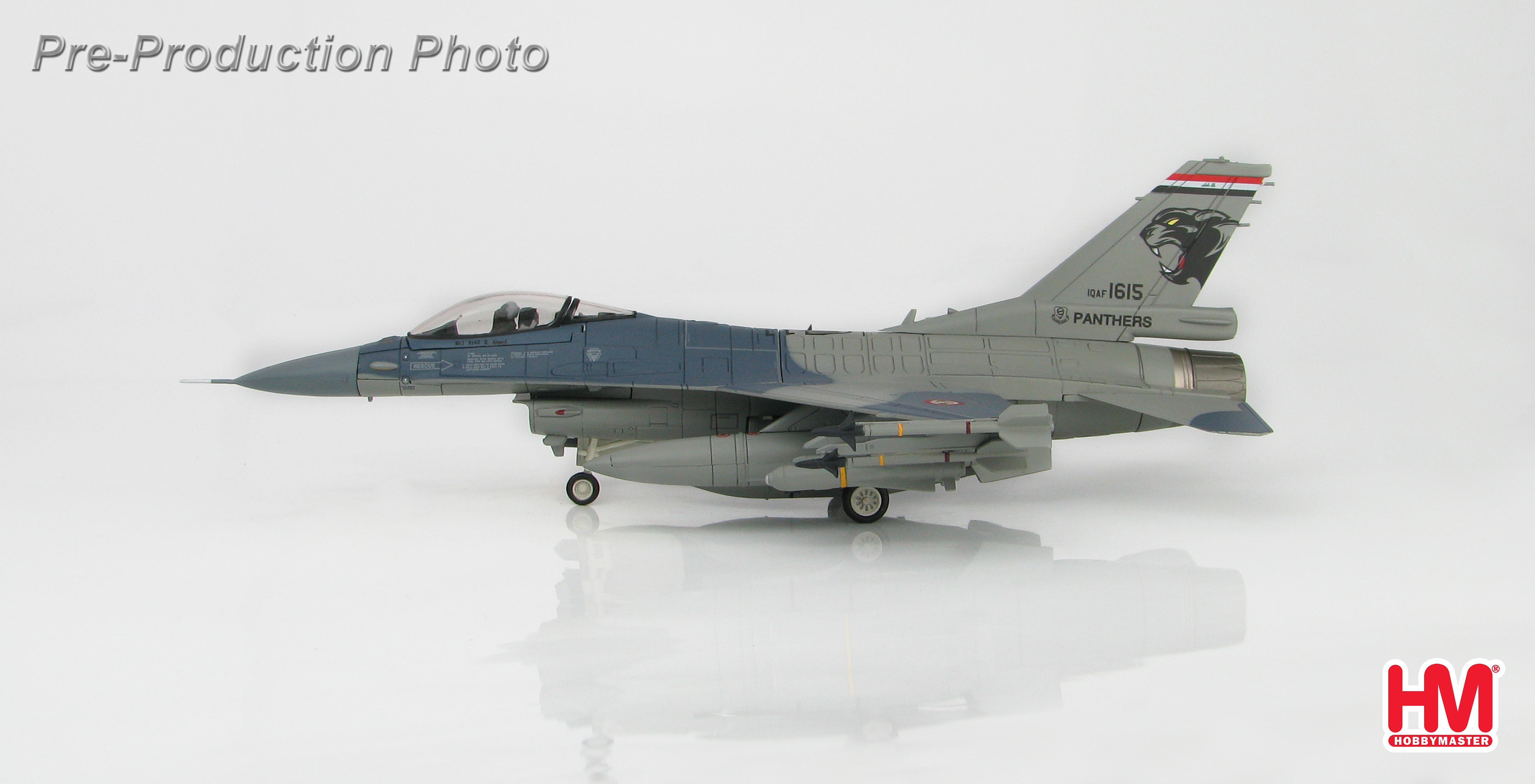 NEU  /& Hobbymaster 1:72 HA3869 F-16C Falcon USAF South Carolina ANG 2015