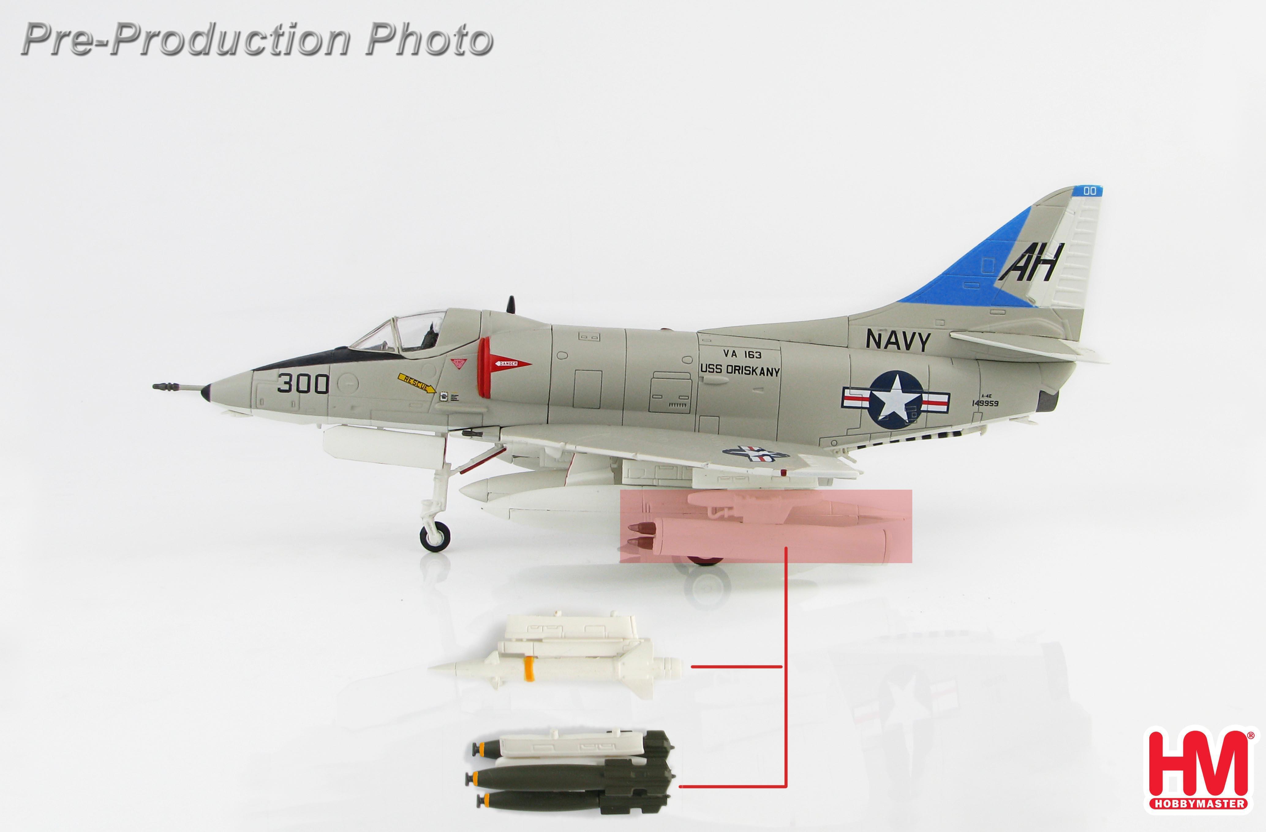 A 4 Skyhawk For Sale >> Ha1429 Hobbymaster Douglas A 4e Skyhawk Uss Oriskany