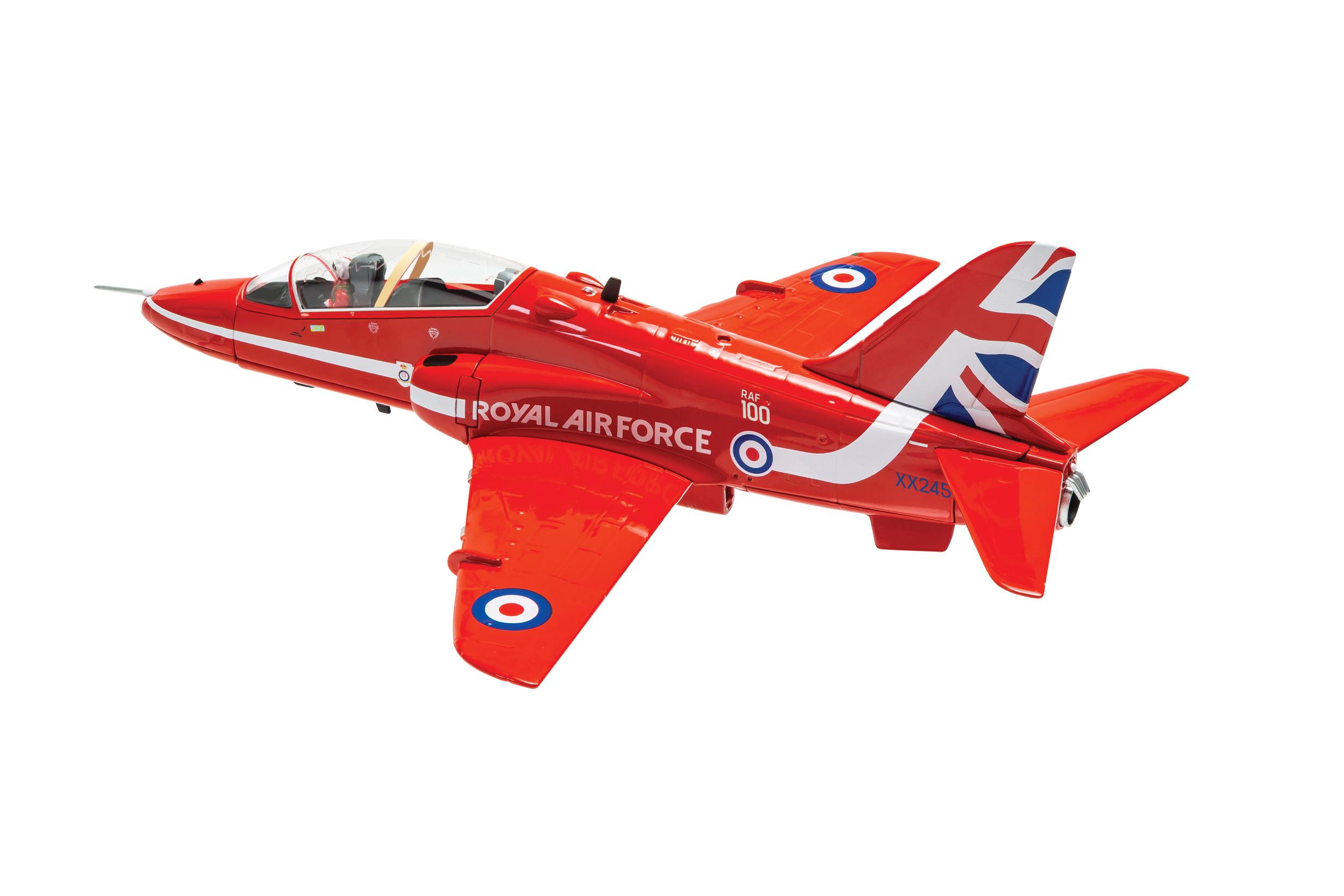 AA36015 Corgi Aviation Archive British Aerospace Hawk T1 Red