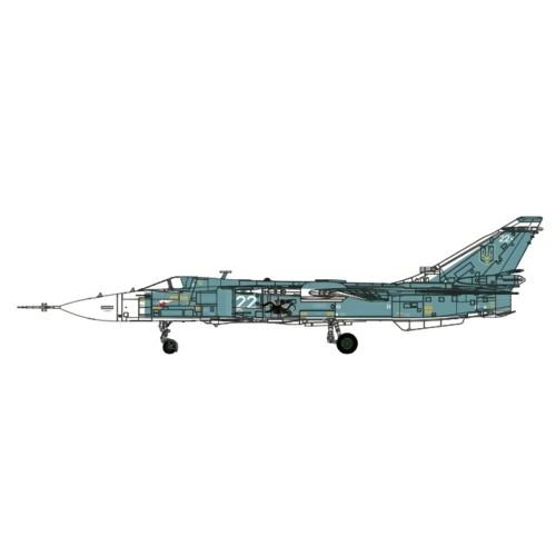 CA722403 Calibre Wings Sukhoi Su-24M Fencer Ukraine White 22