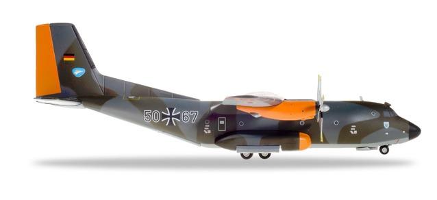 559560 Herpa Luftwaffe Transall C-160 - Lufttransportgeschwader 63