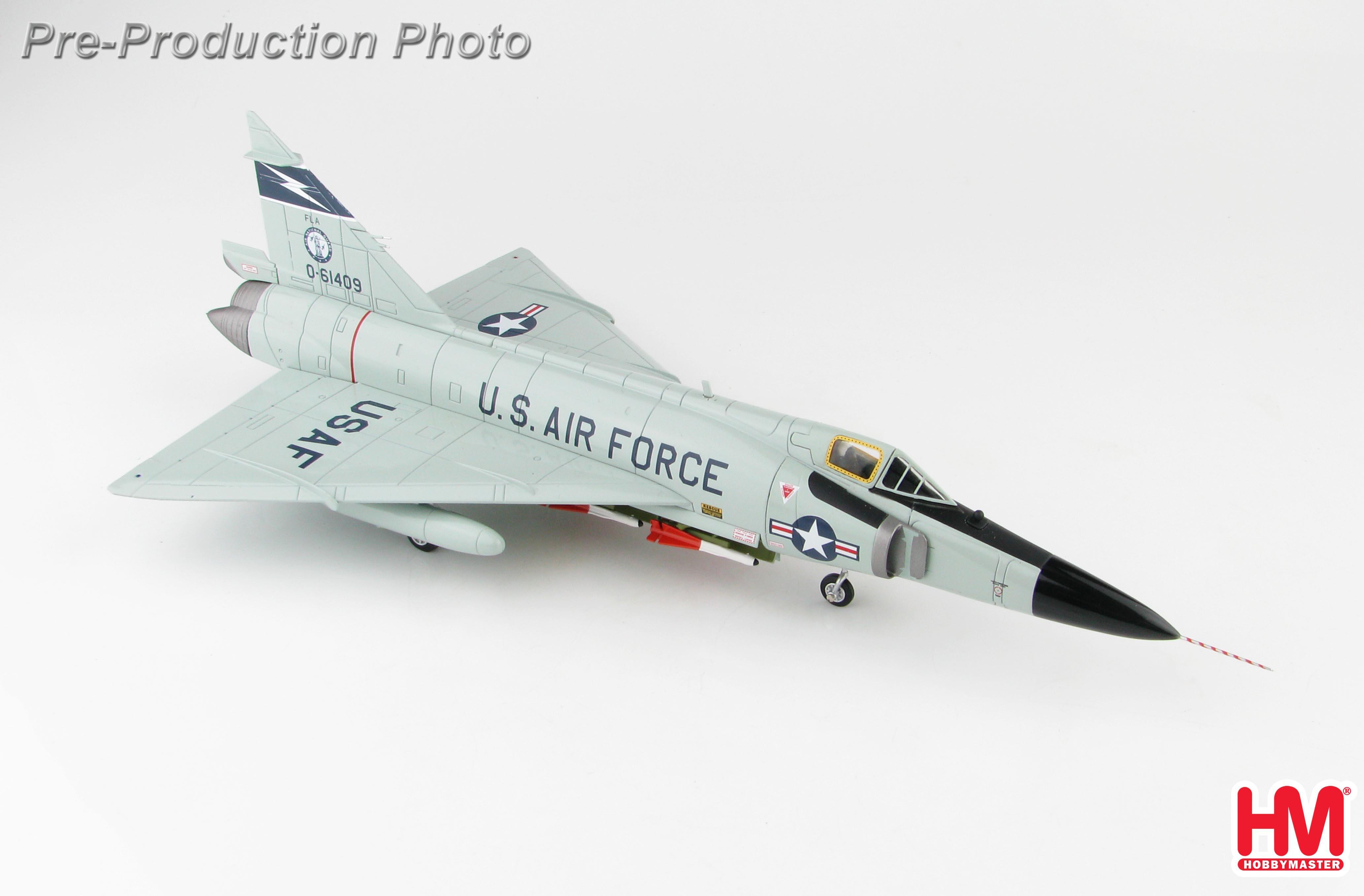 HA3112 Hobbymaster F-102 Delta Dagger 0-61409, Florida ANG, 1960s