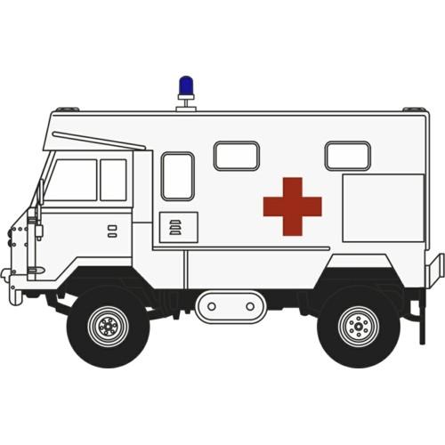 76LRFCA003 Oxford Diecast Land Rover FC Ambulance