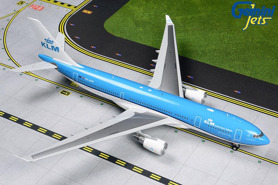 G2KLM839 Gemini Jets KLM Airbus A330-200 PH-AOM (New Livery)