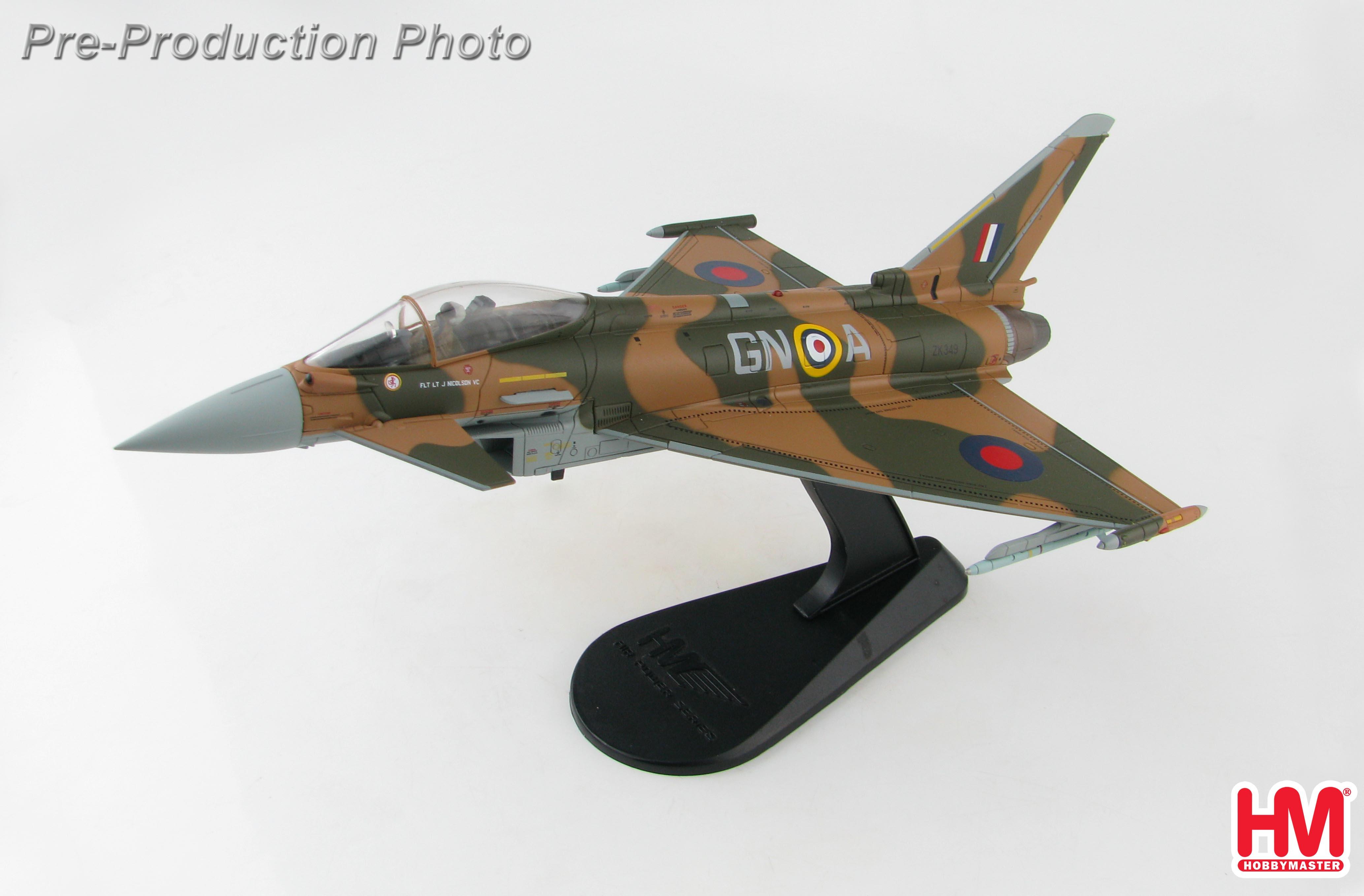 "Eurofighter /""Battle of Britain 75th Anniversary/"" ZK349 RAF Hobby Master HA6606"